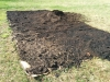 new squash garden gets layer of compost