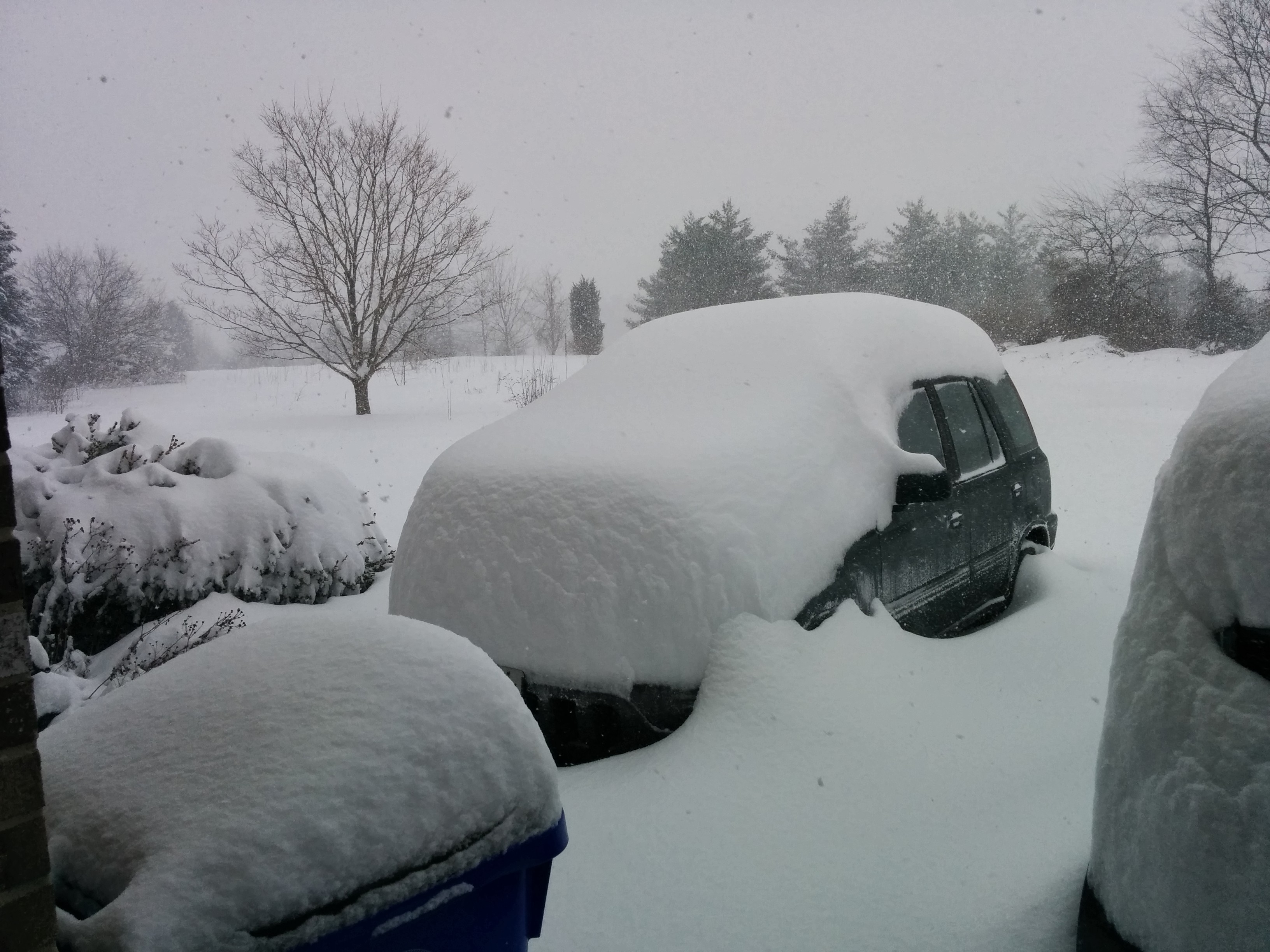 The big snow in Jan 2014